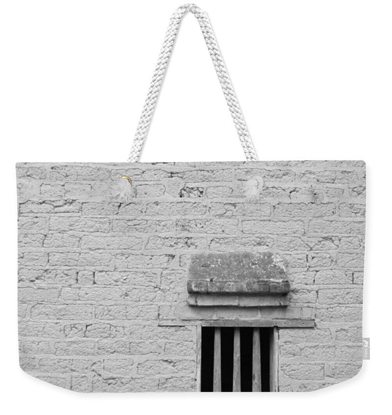 Toughness Weekender Tote Bag featuring the photograph Old Prison by Blackred