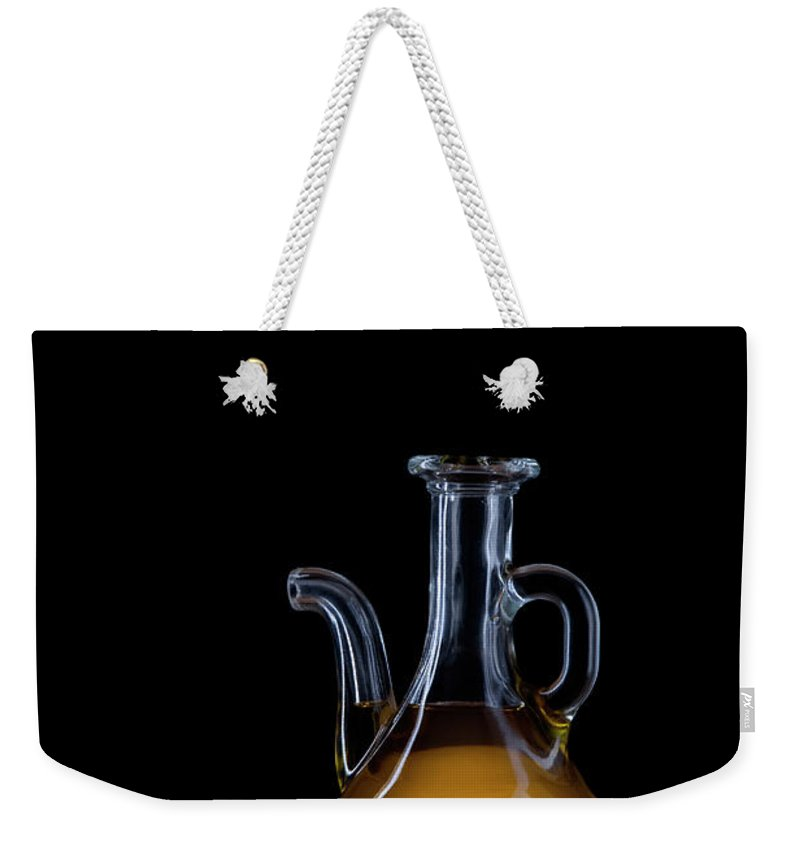 Greece Weekender Tote Bag featuring the photograph Olive Oil by Portugal2004