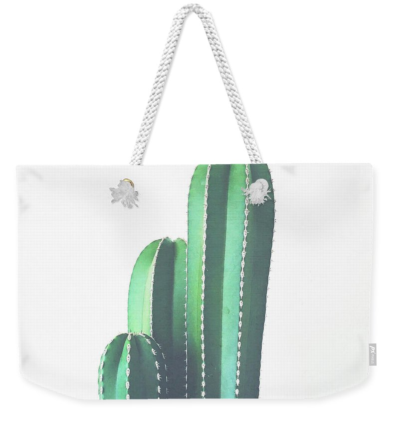 Cactus Weekender Tote Bag featuring the photograph Organ Pipe Cactus by Cassia Beck