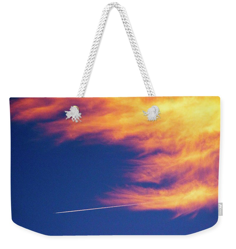 D1-l-1076-d Weekender Tote Bag featuring the photograph Out Racing The Devil by Paul W Faust - Impressions of Light