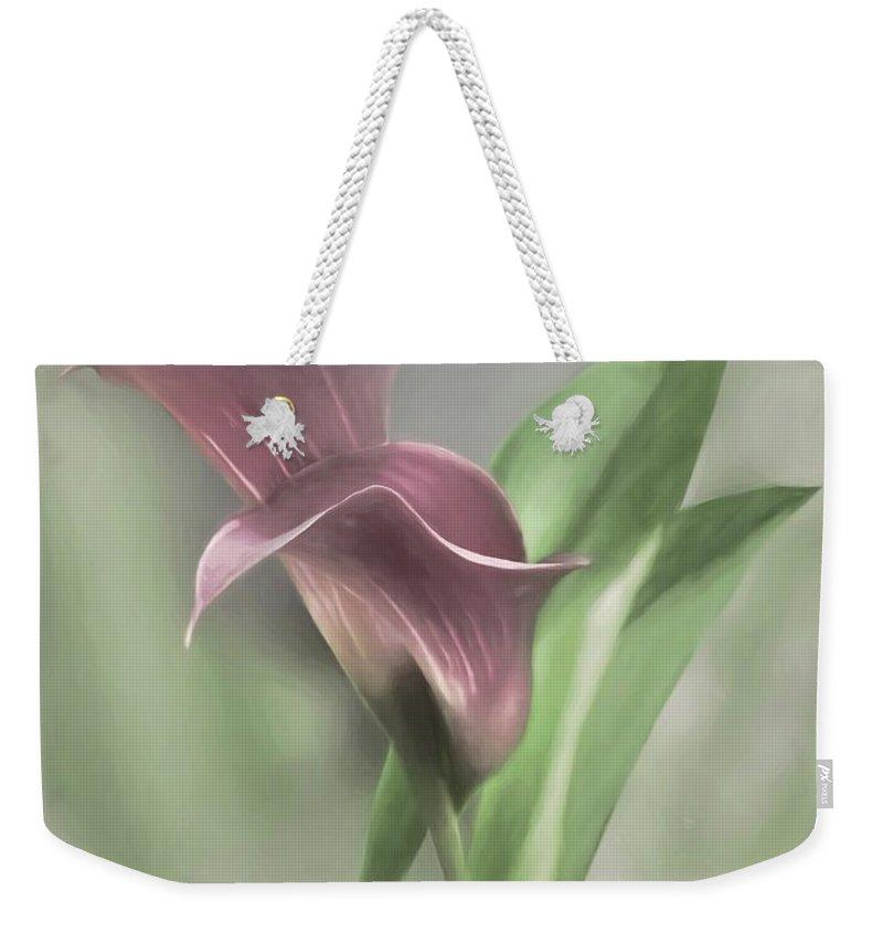 Easter Lily Weekender Tote Bags