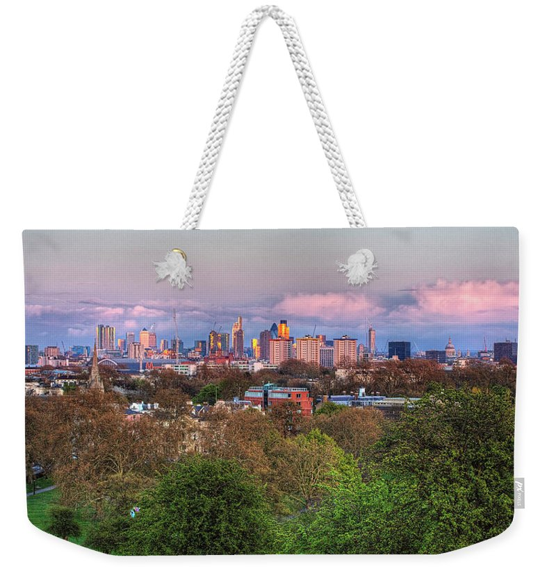 Outdoors Weekender Tote Bag featuring the photograph Primrose Hill by Esslingerphoto.com