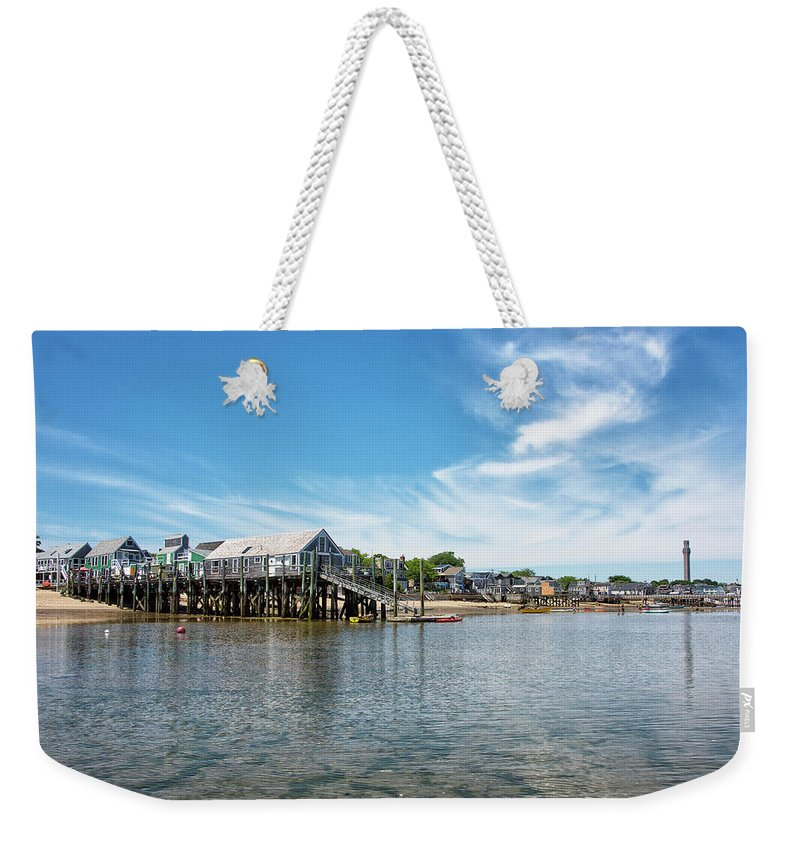Provincetown Weekender Tote Bag featuring the photograph Provincetown - Cape Cod - Massachusetts by Brendan Reals