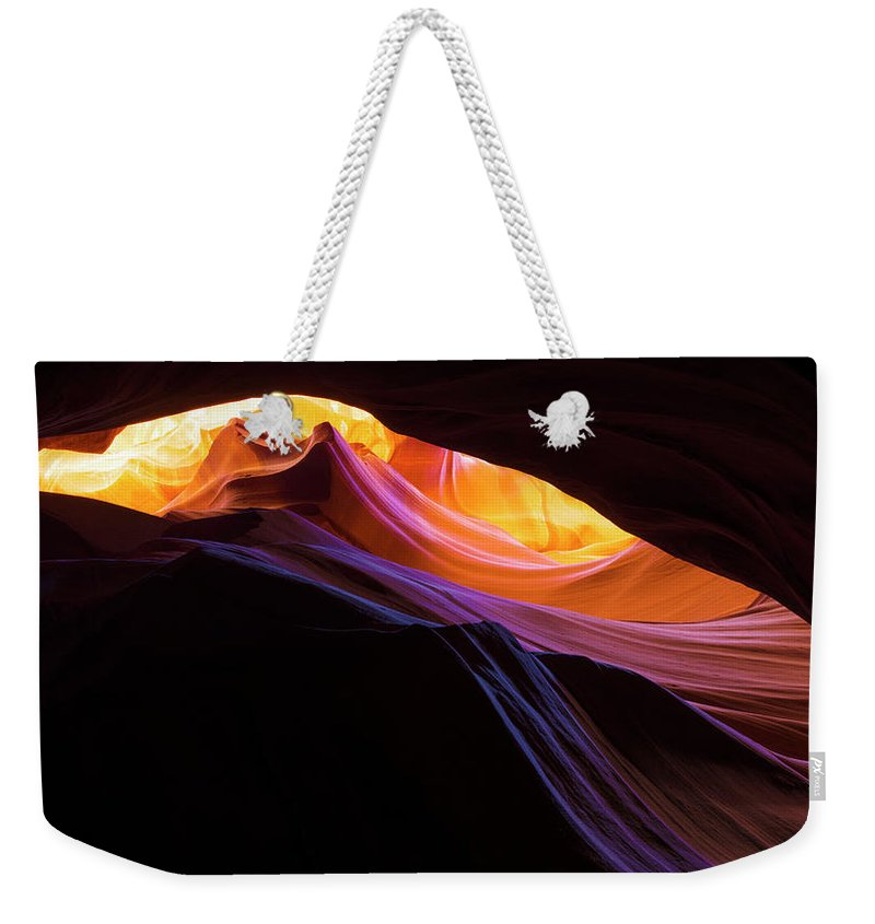 Antelope Canyon Weekender Tote Bags