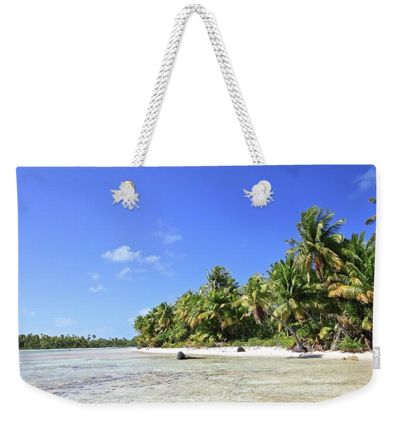 Tranquility Weekender Tote Bag featuring the photograph Rangiroa - Isola Dei Coralli - Reef Isl by Loving And Living In This Planet