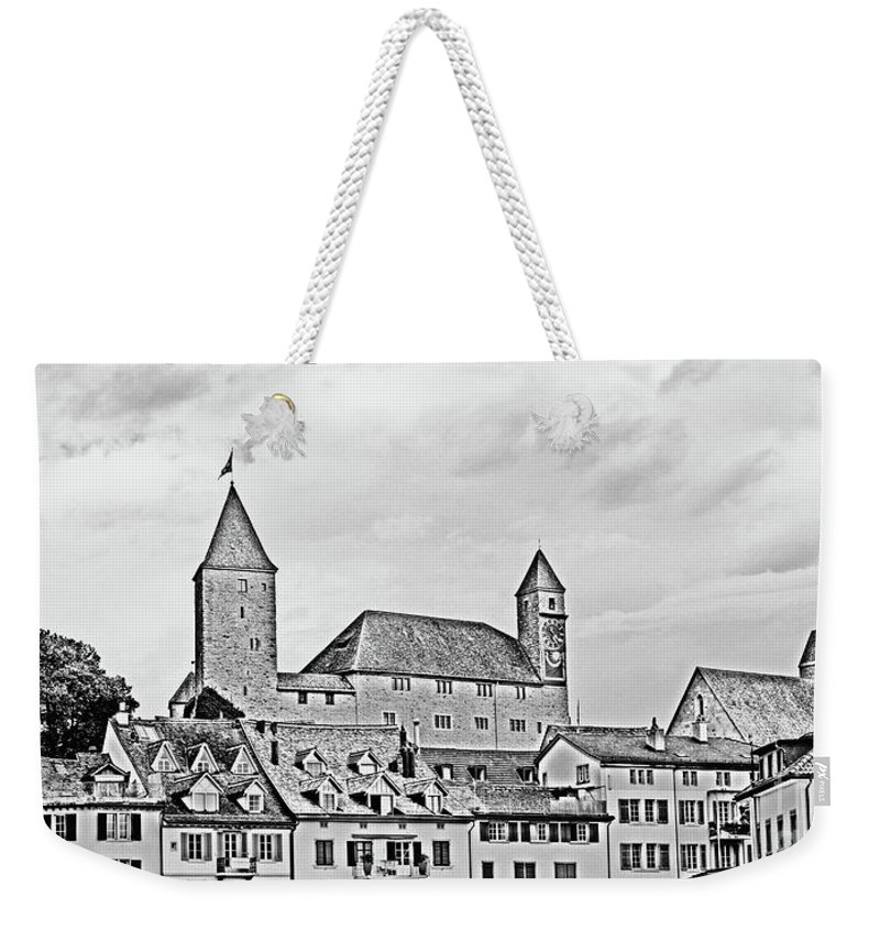 Rapperswil Weekender Tote Bag featuring the photograph Rapperswil Castle 2 by DiFigiano Photography