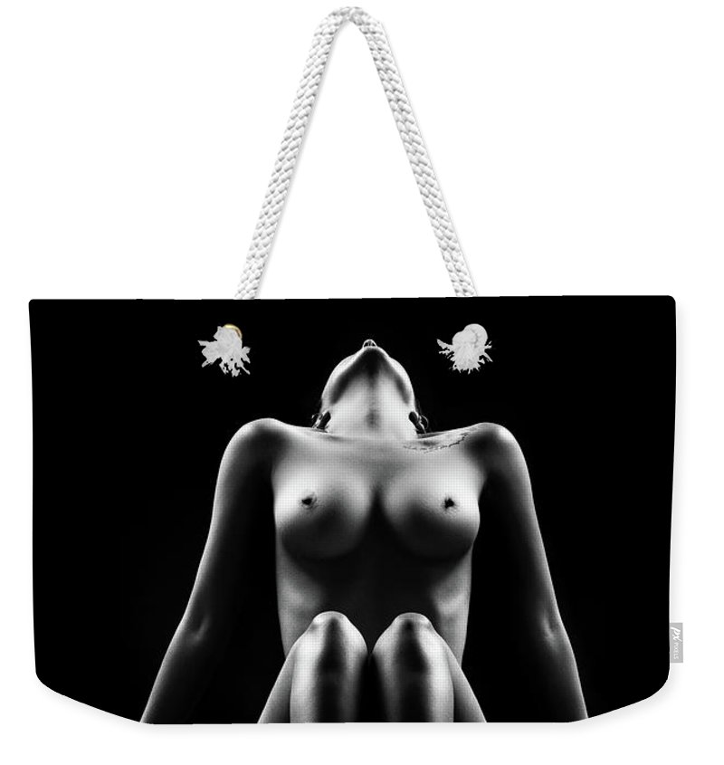 Woman Weekender Tote Bag featuring the photograph Reflections of D'Nell 1 by Johan Swanepoel