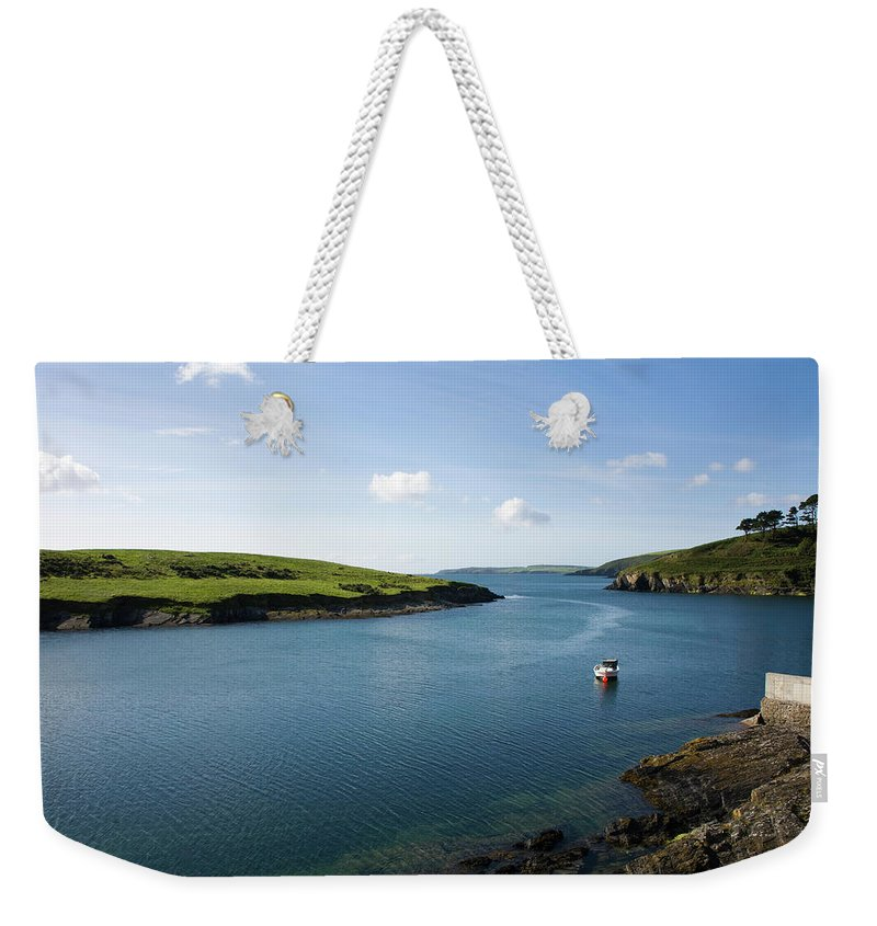 Scenics Weekender Tote Bag featuring the photograph Republic Of Ireland, County Cork, Inlet by David Epperson