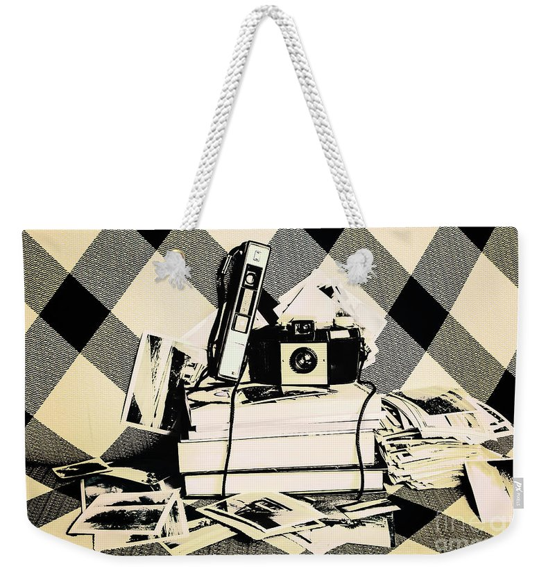 Camera Weekender Tote Bag featuring the photograph Research And Development by Jorgo Photography - Wall Art Gallery