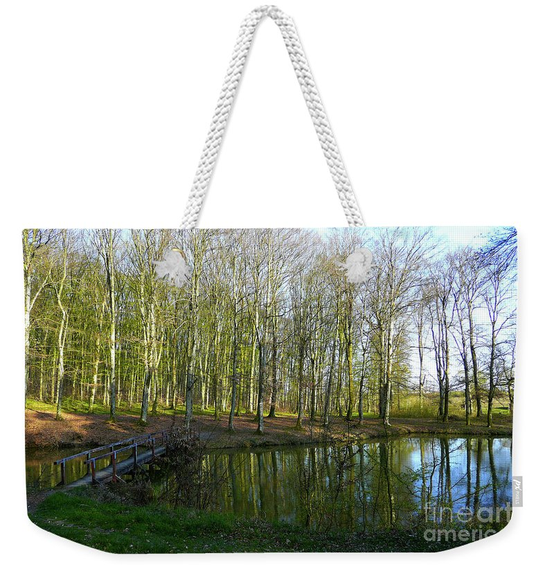 Pond Weekender Tote Bag featuring the photograph Resort Bara - Bilogora No 6 by Jasna Dragun