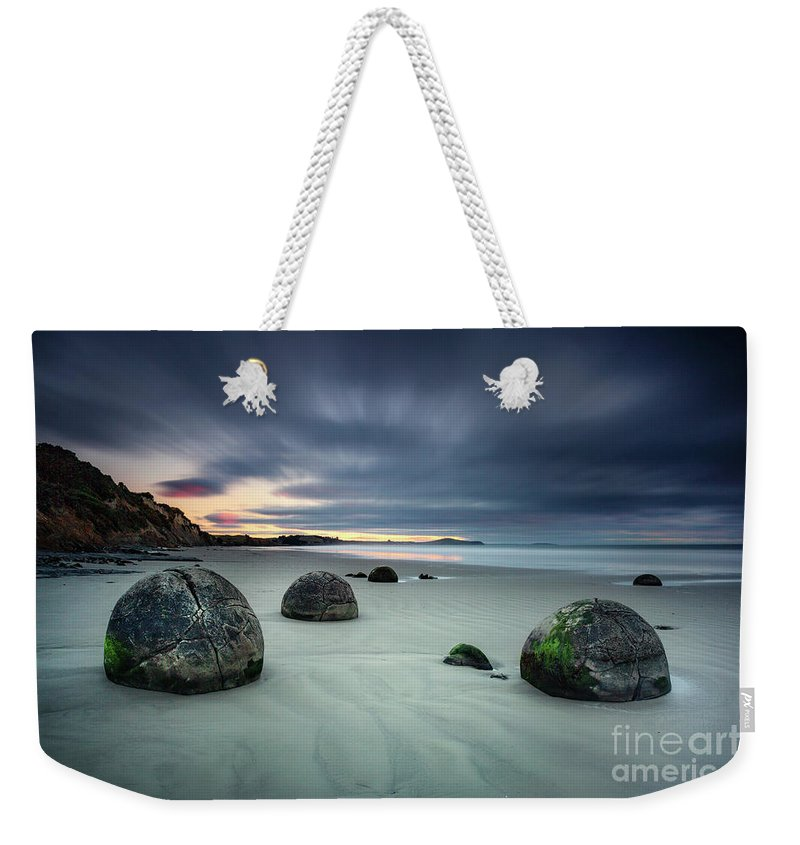 Kremsdorf Weekender Tote Bag featuring the photograph Rise Of The Giants by Evelina Kremsdorf