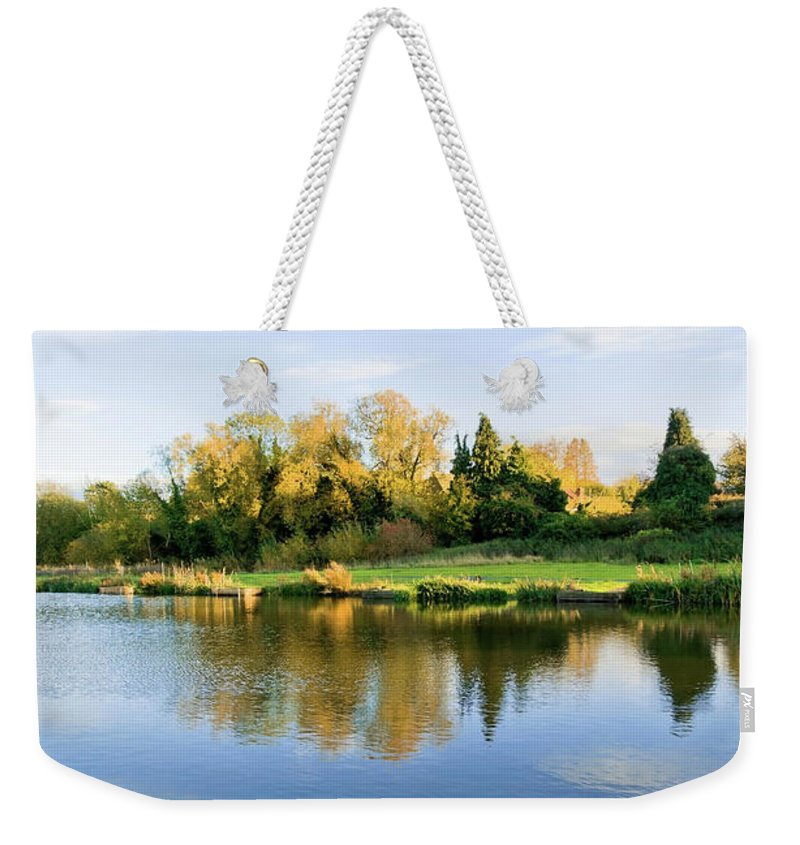 Scenics Weekender Tote Bag featuring the photograph River Avon Warwick by Kodachrome25