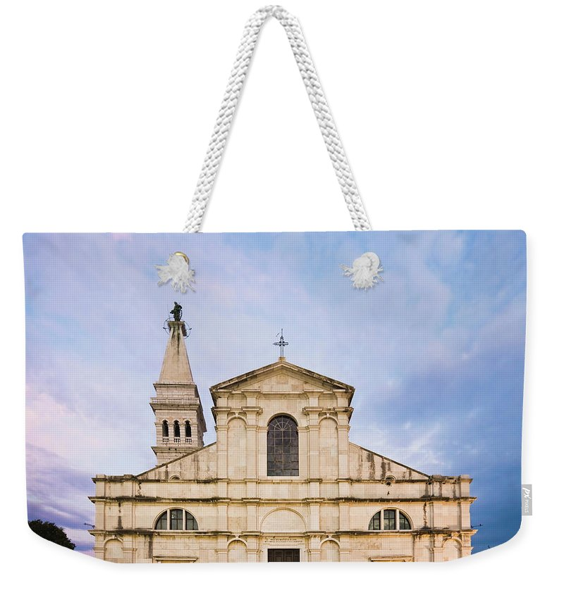 Outdoors Weekender Tote Bag featuring the photograph Saint Euphemia Church by David Madison