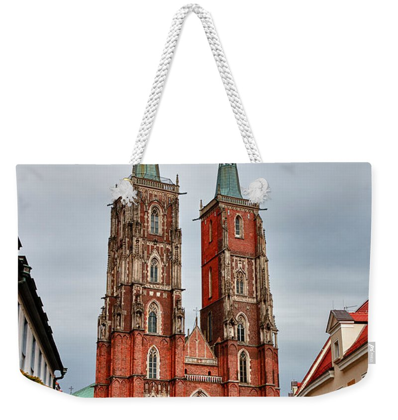Arch Weekender Tote Bag featuring the photograph Sant Joan Baptista by Carles Mart? Gilabert