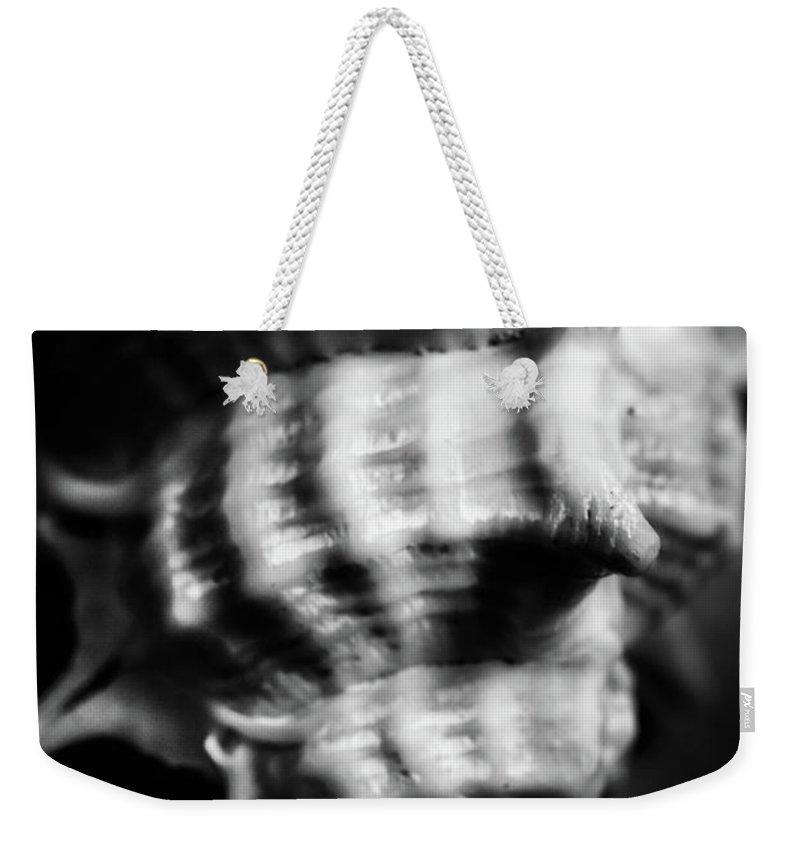 Grey Background Weekender Tote Bags