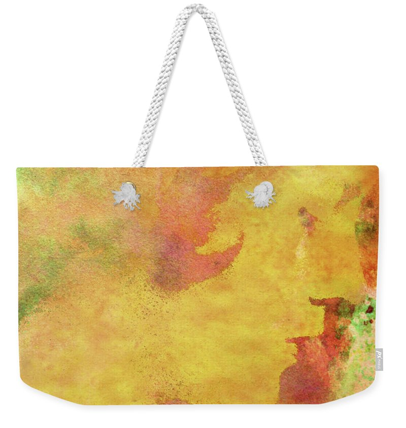 Shades Of You Weekender Tote Bag featuring the digital art Shades of You by Kenneth Rougeau