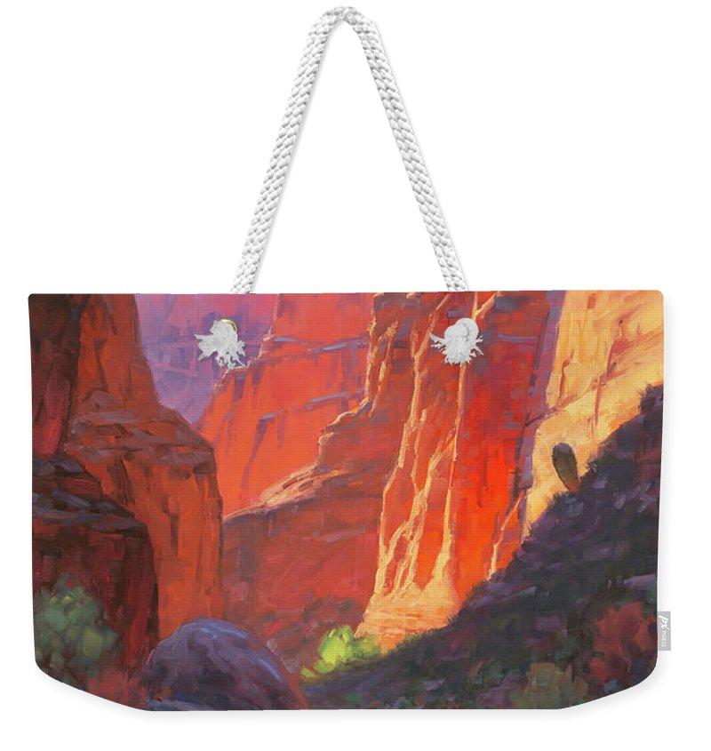 Canyon Weekender Tote Bags