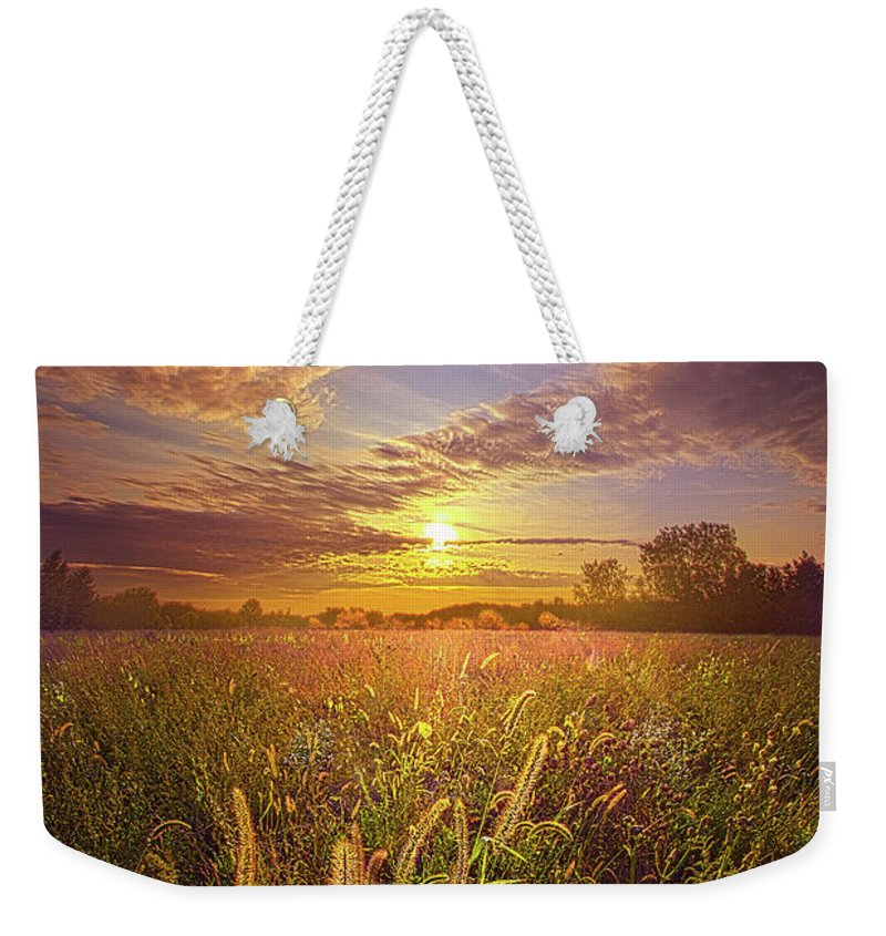 Life Weekender Tote Bag featuring the photograph So Long As We Love by Phil Koch