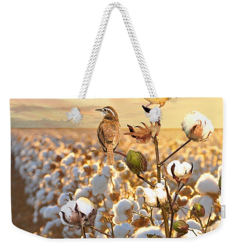 Plantation Digital Art Weekender Tote Bags