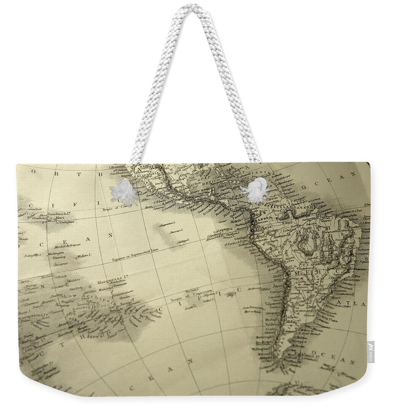 Amazon Rainforest Weekender Tote Bag featuring the photograph South America by Belterz