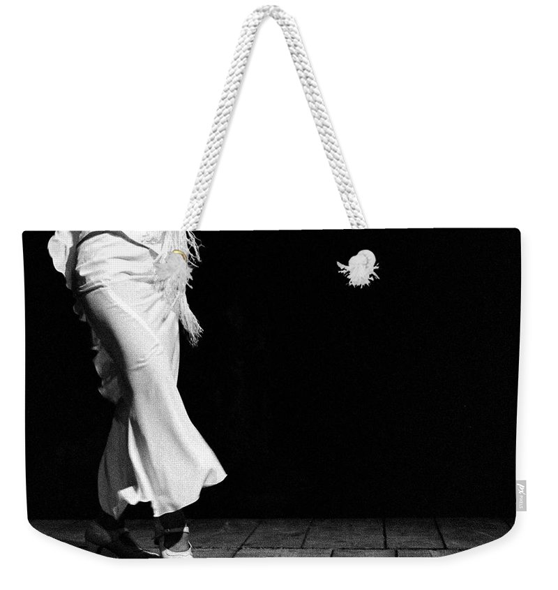 Ballet Dancer Weekender Tote Bag featuring the photograph Starting Flamenco by T-immagini