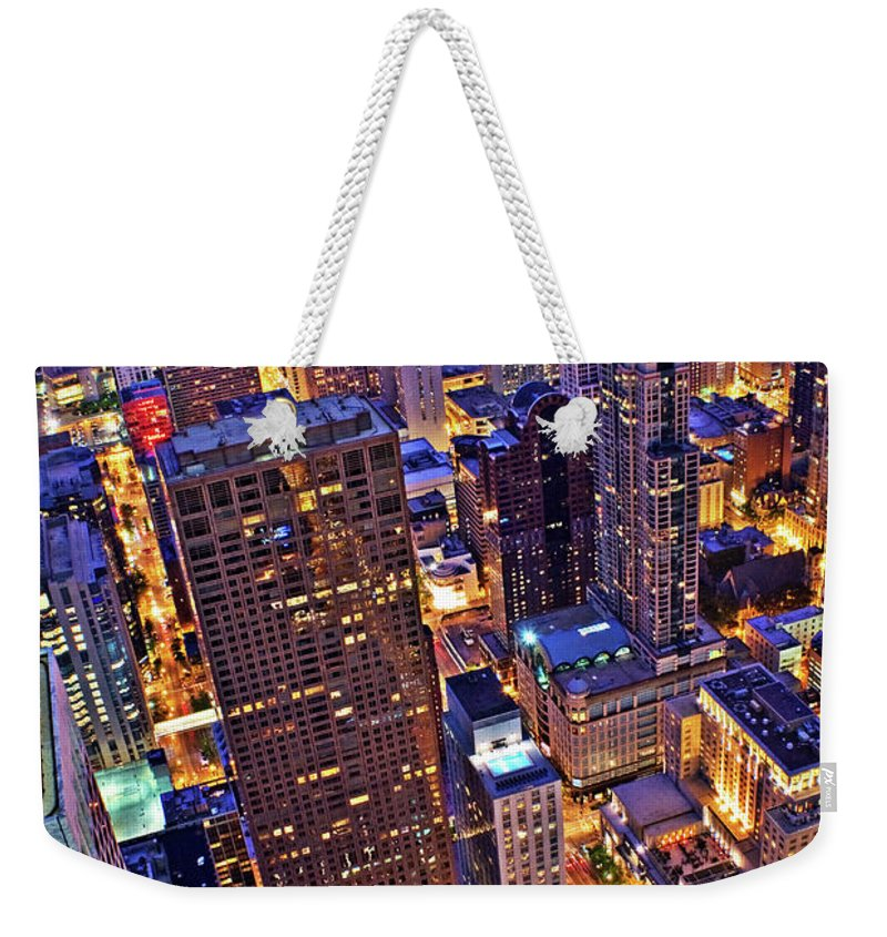 Outdoors Weekender Tote Bag featuring the photograph Stepping Over The Ledge by Garron Nicholls