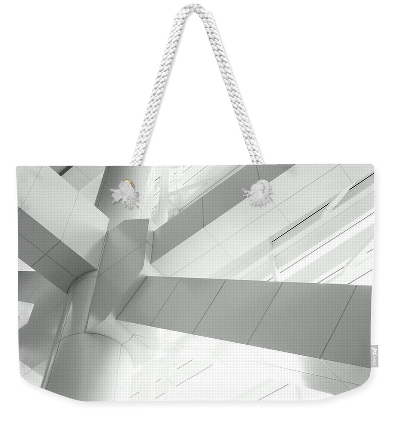 Toughness Weekender Tote Bag featuring the photograph Structural Connection by Blackred