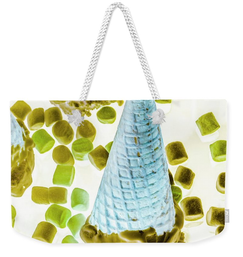 Sweet Weekender Tote Bag featuring the photograph Summer Tips And Parlour Tricks by Jorgo Photography - Wall Art Gallery