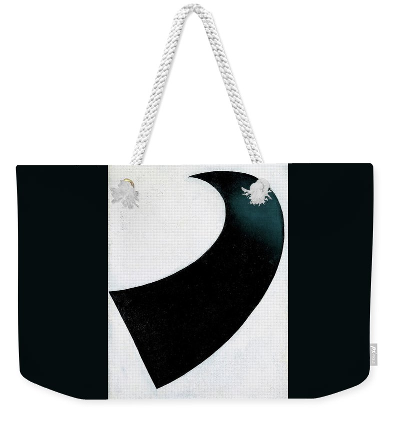 Suprematism Weekender Tote Bag featuring the painting Suprematism 1917 - Digital Remastered Edition by Kazimir Severinovich Malevich
