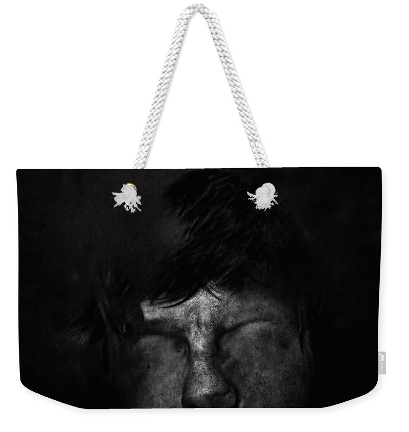 People Weekender Tote Bag featuring the photograph Sweden, Stockholm, Distorted Face by Win-initiative