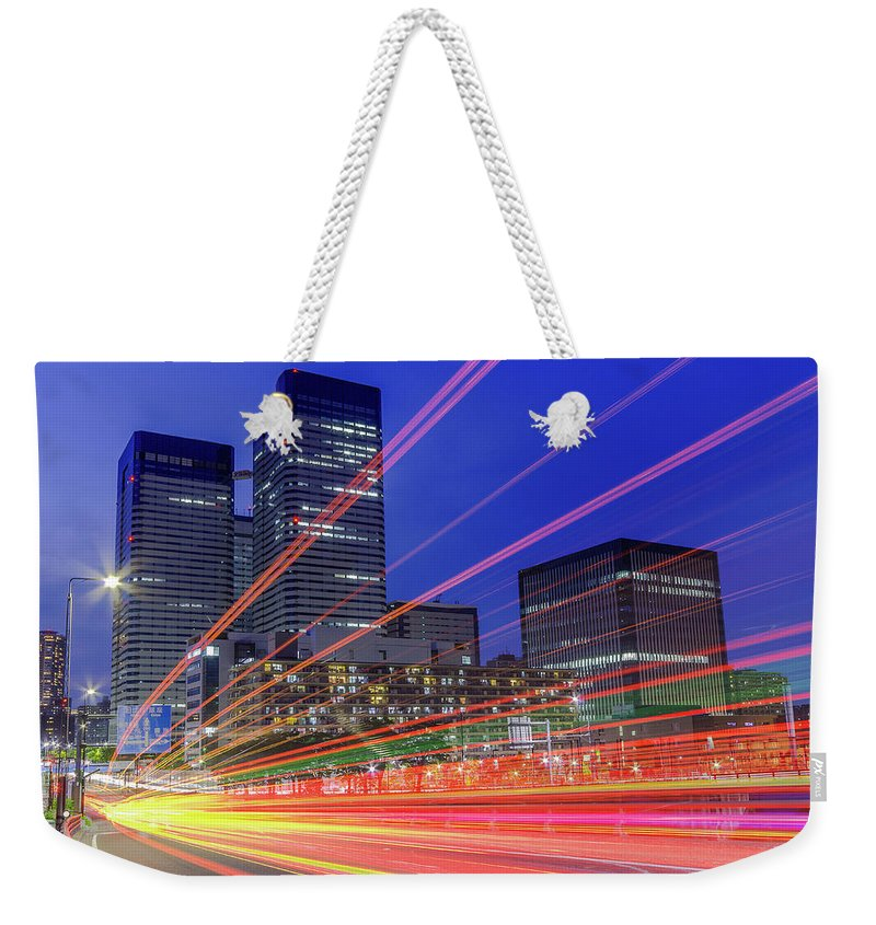 Outdoors Weekender Tote Bag featuring the photograph Tails Of Daytime by Shingo Tamura