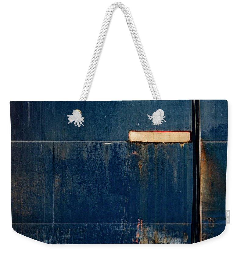 Freighter Weekender Tote Bags