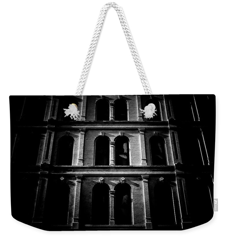 Blumwurks Weekender Tote Bag featuring the photograph Tenebrous by Matthew Blum