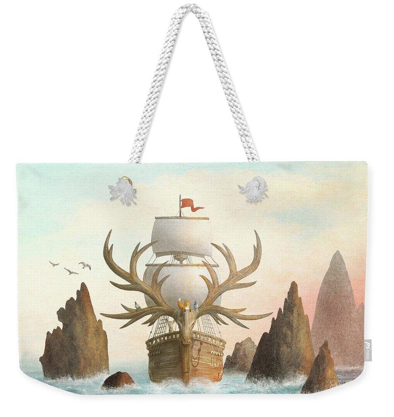Sunrise Drawings Weekender Tote Bags