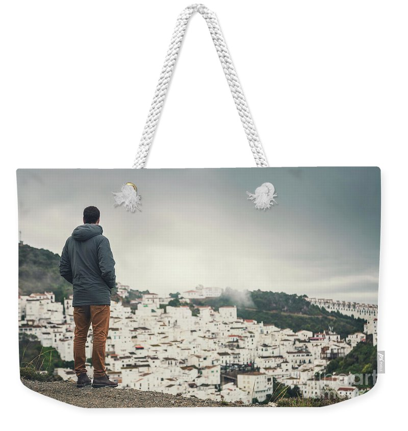 Standing Tall Photographs Weekender Tote Bags