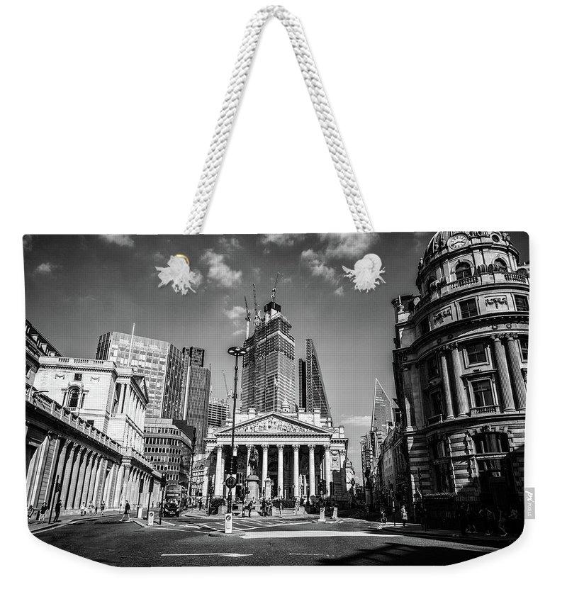 London Stock Exchange Weekender Tote Bags