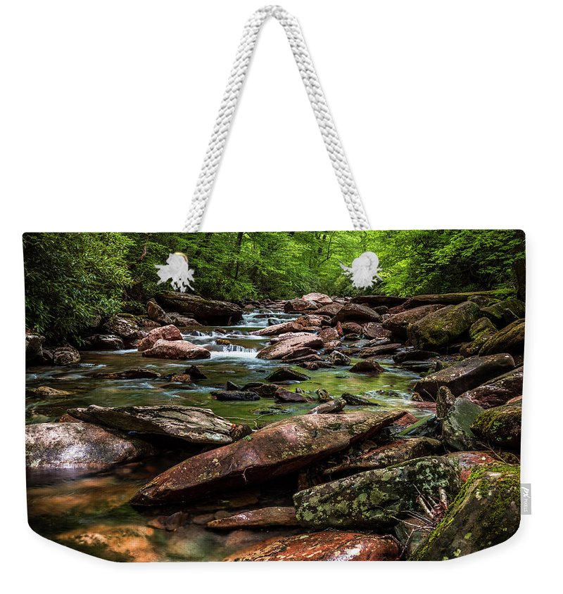 America Weekender Tote Bag featuring the photograph The Forest Primeval by ProPeak Photography