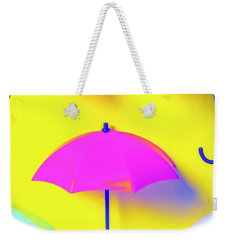 Pop Art Weekender Tote Bag featuring the photograph The Sun Shower Scene by Jorgo Photography - Wall Art Gallery