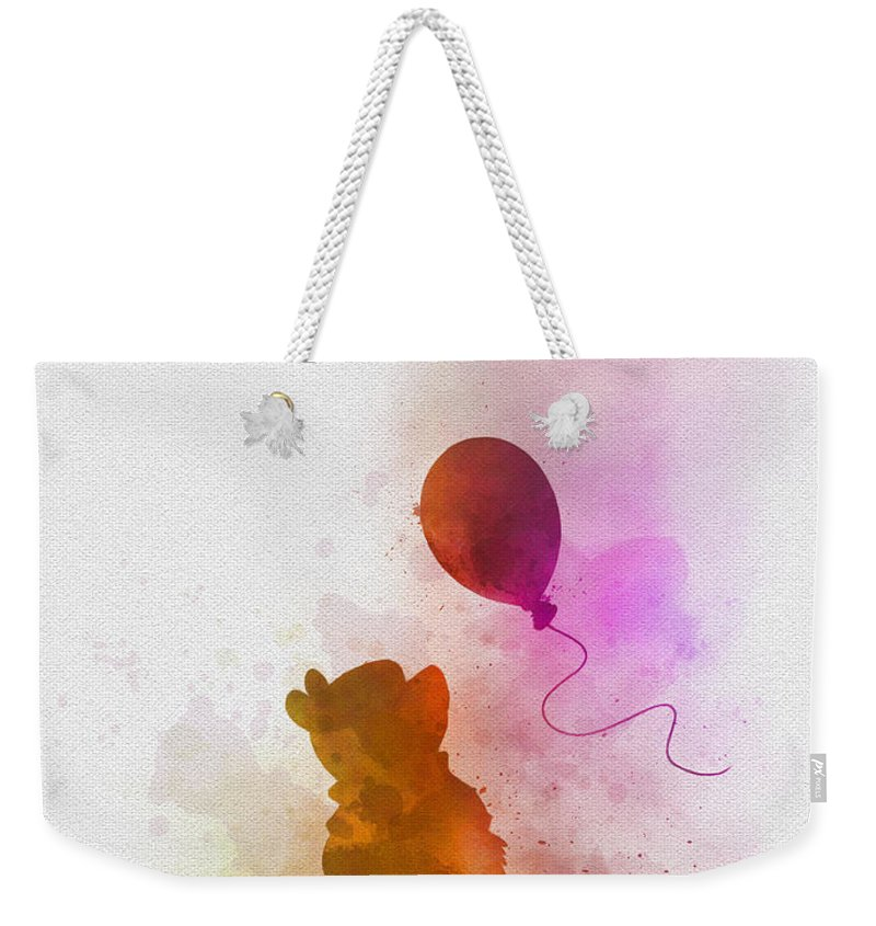 Winnie The Pooh Weekender Tote Bag featuring the mixed media The things that make me different by My Inspiration