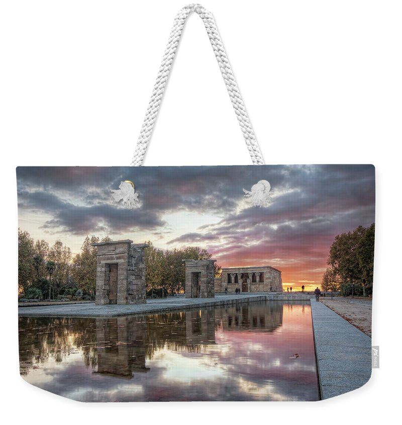 Arch Weekender Tote Bag featuring the photograph The Twilight Of The Gods by Servalpe