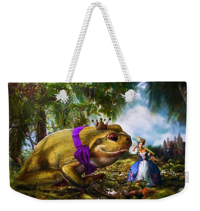 Surreal Weekender Tote Bag featuring the digital art The Unloved Ones by Mario Sanchez Nevado