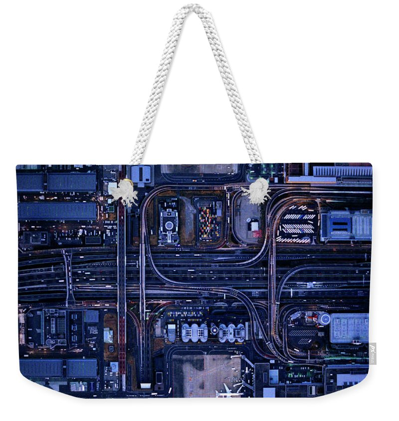 Outdoors Weekender Tote Bag featuring the photograph Tokyo International Airporthaneda by Michael H