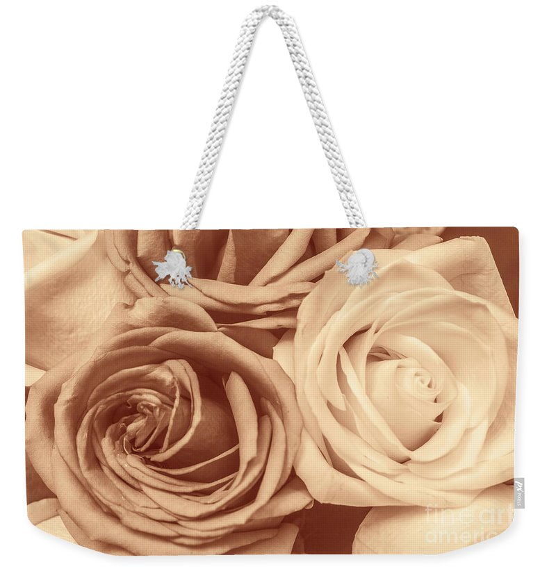 Vintage Weekender Tote Bag featuring the photograph Touching Harmony by Jorgo Photography - Wall Art Gallery
