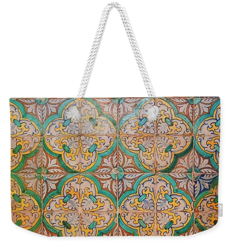 Catalonia Weekender Tote Bag featuring the photograph Traditional Hand Made And Decorated by Tracy Packer Photography