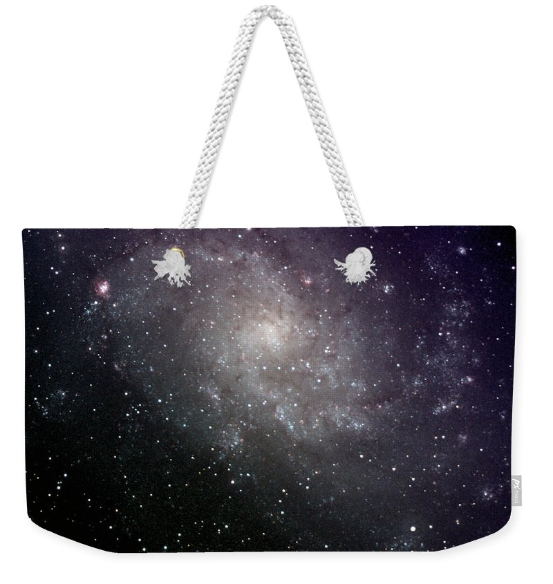 New Mexico Weekender Tote Bag featuring the photograph Triangulum Galaxy by A. V. Ley