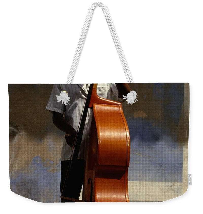 Straw Hat Weekender Tote Bag featuring the photograph Trinidad In Cuba by Buena Vista Images