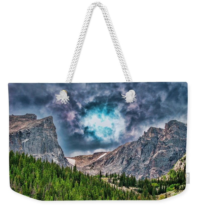 Colorado Weekender Tote Bag featuring the photograph Two Billion Years In The Making by Mike Braun