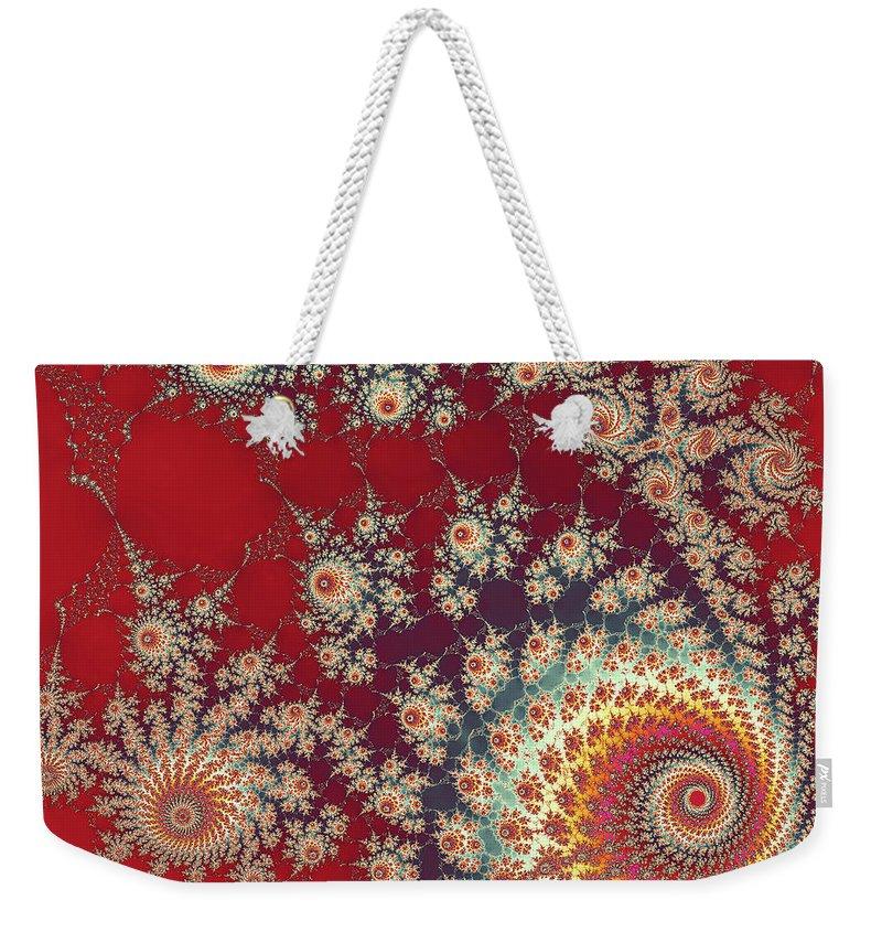 Art Weekender Tote Bag featuring the digital art Unity by Ester McGuire