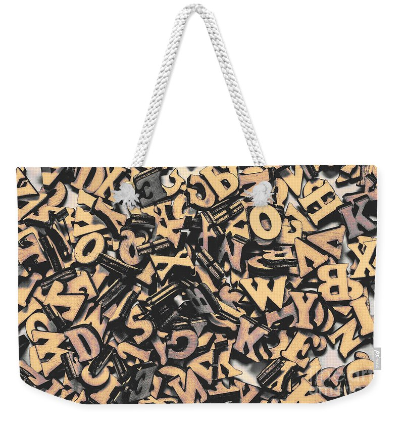 Author Weekender Tote Bag featuring the photograph Untitled by Jorgo Photography - Wall Art Gallery