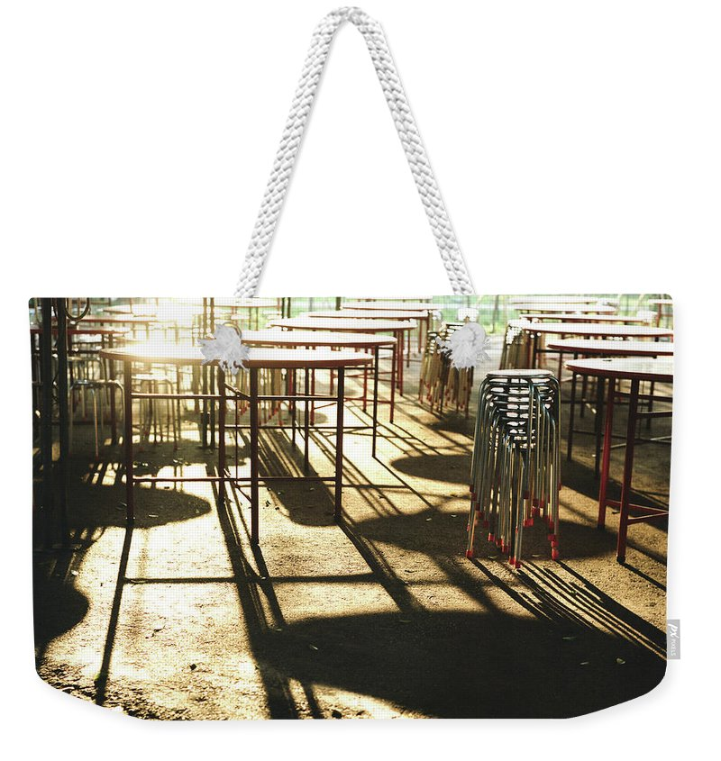 Shadow Weekender Tote Bag featuring the photograph Upcoming Feast by Lin Yu Wei